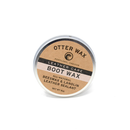Otter Wax - Boot Wax | Beeswax & Lanolin Leather Sealant