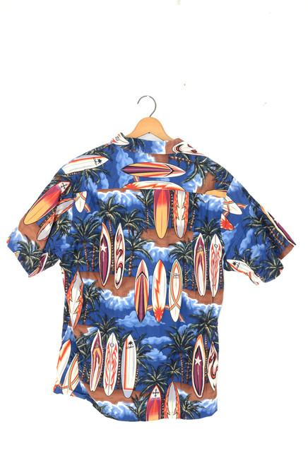 Portholl Surf 100% Hawaii Made Shirt   Mens Medium