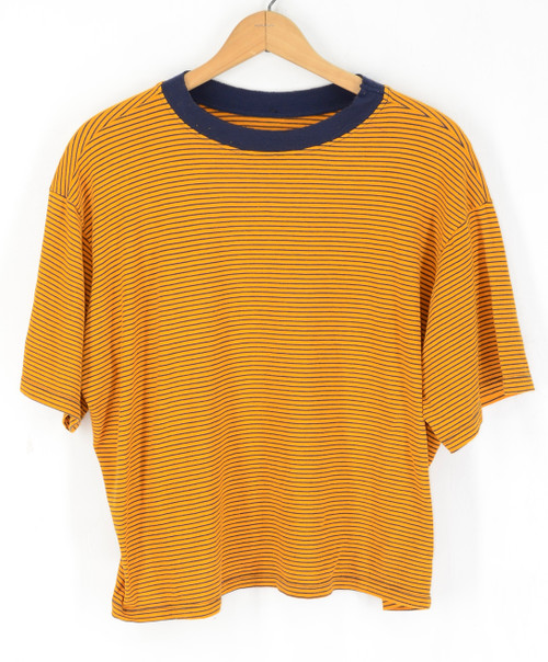 Super Soft Boxy Striped T Shirt | XL