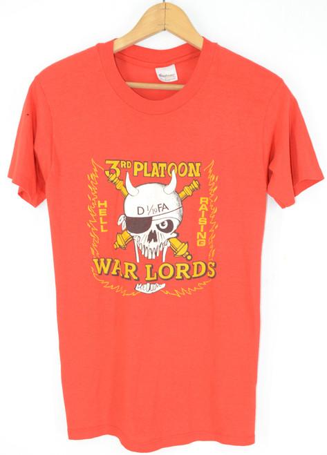 Steadman USA Made 3rd Platoon Warlords Military T Shirt