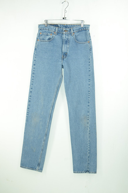 "1980s-1990s Levis 505 Straight Leg Zipper Fly Denim. 31"" Waist."