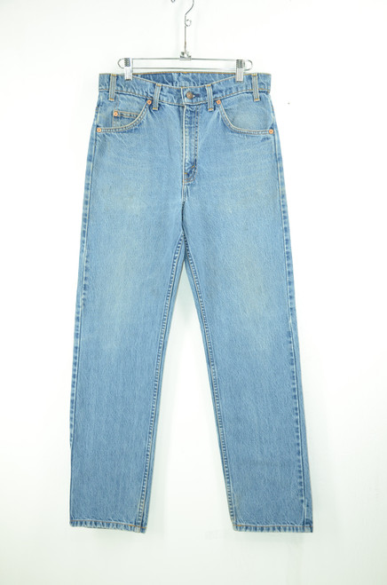 "Levis 505 Orange Tab Straight Leg Zipper Fly Denim. 31"" Waist"
