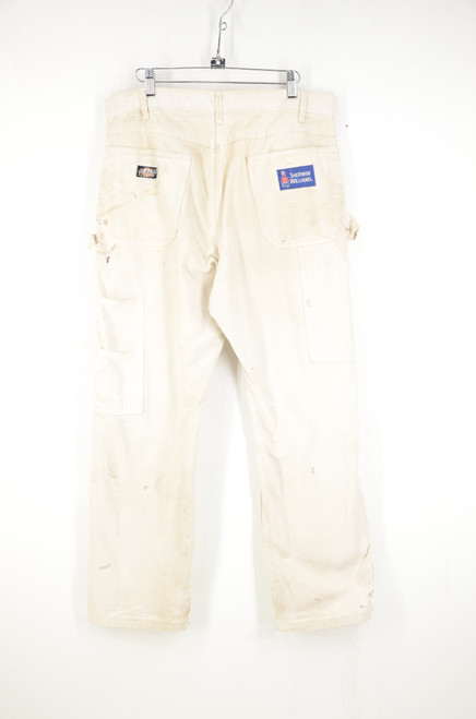 """Distressed and Painted Dickies Painters Pants. 36"""" Waist"""