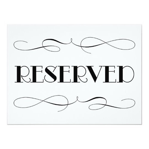 $55 Reserved Listing