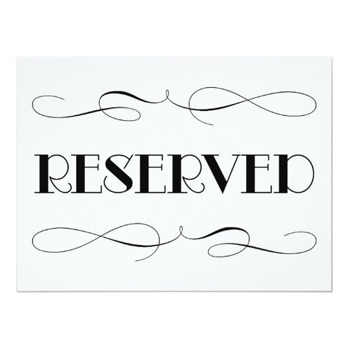 $25 Reserved Listing