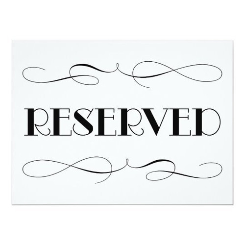 $35 Reserved Listing