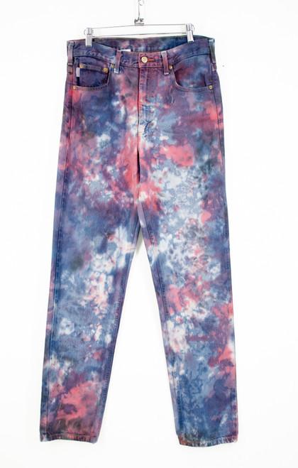"Tri Tone Pro Tie-Dye Carhartt Work Jeans. 32"" Waist"