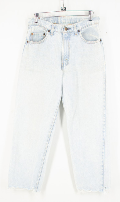 "Levis Relaxed Fit Distressed Light Wash Jeans. Size 29"" Waist"
