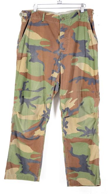 Woodland Camo Military Cargo Pants | Alternate Pattern |
