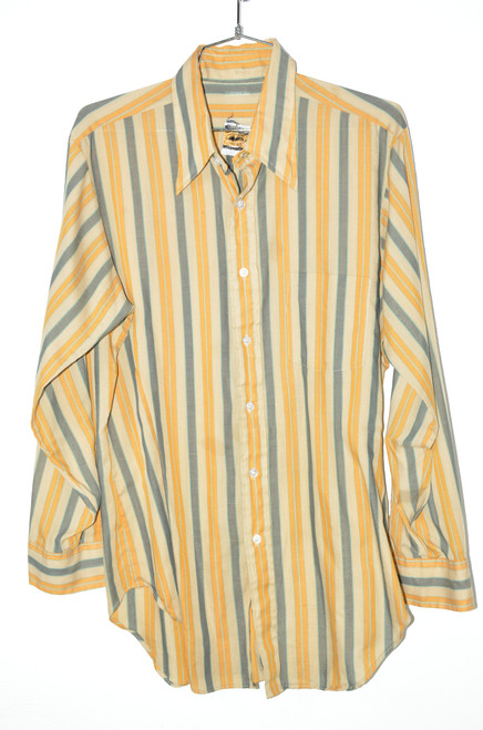Arrow Traditional Striped Button Up | 44 Large