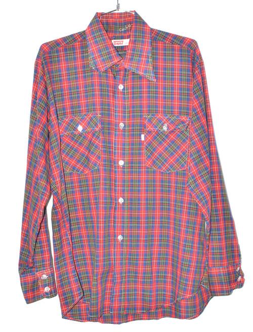 Levis Checkered Striped Button Up Shirt | 48 XL