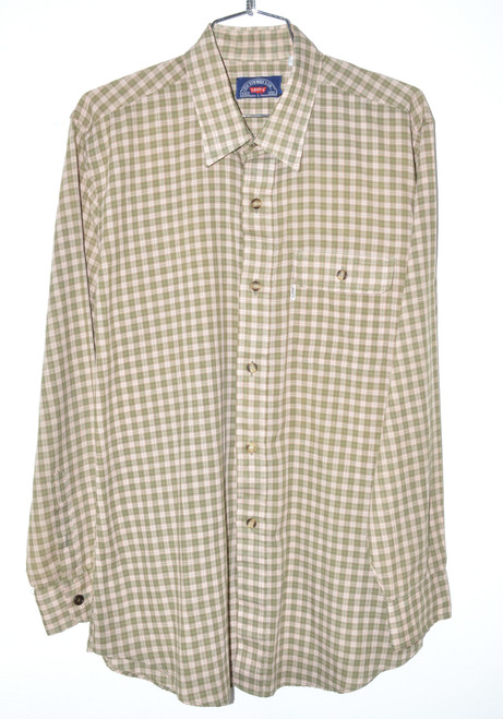Levis Checkered Button Up Shirt | 46 Large