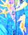 Silk Aquarium Pattern Windbreaker