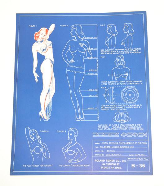 1950's Bra Manufacturer Advertisement