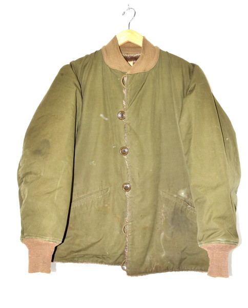 WWII US M-1943 Pile Liner Jacket