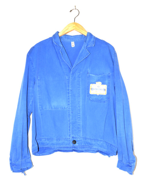 European Workwear Bright Blue Jacket