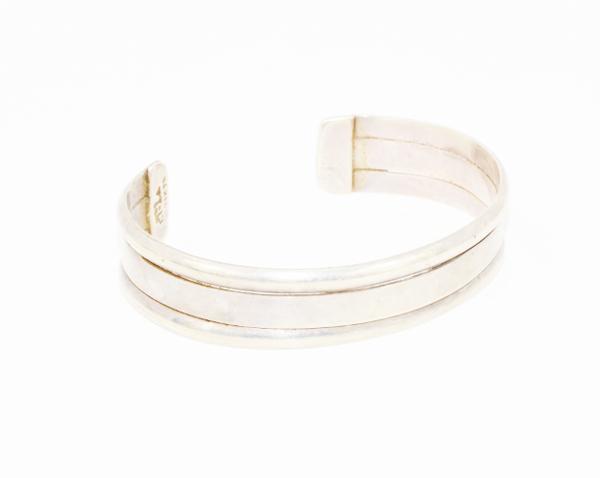 Simple Sterling Cuff Bracelet