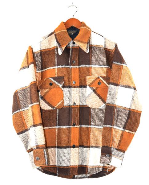 Brown Plaid CPO Shirt