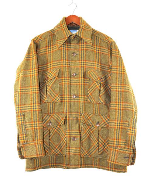 Plaid Four Pocket CPO Jacket