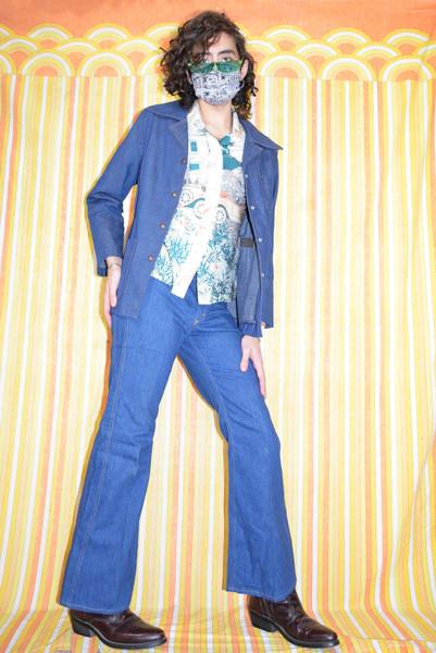 Deadstock Lee Flare Jeans