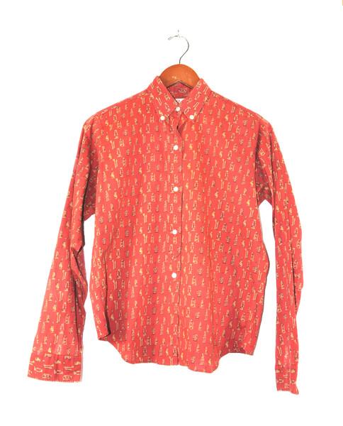 Dearborn Printed Long Sleeve Shirt