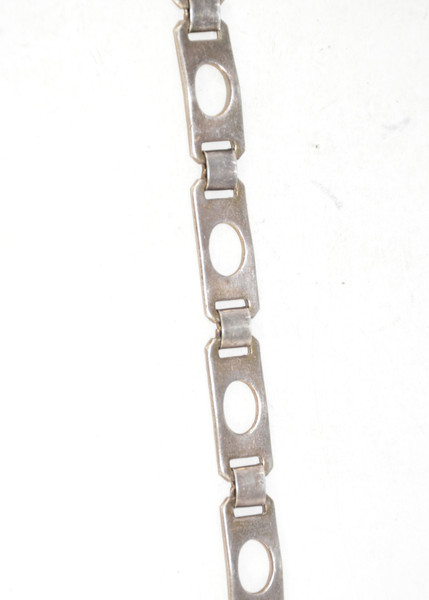 Sterling Silver Keyhole Link Bracelet