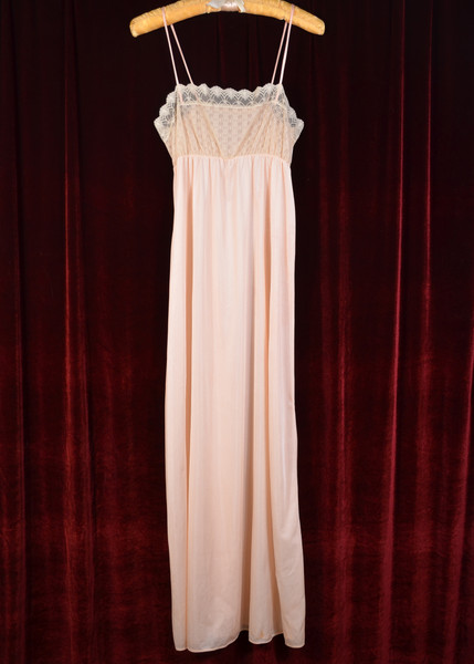 Lace Front Slip Dress