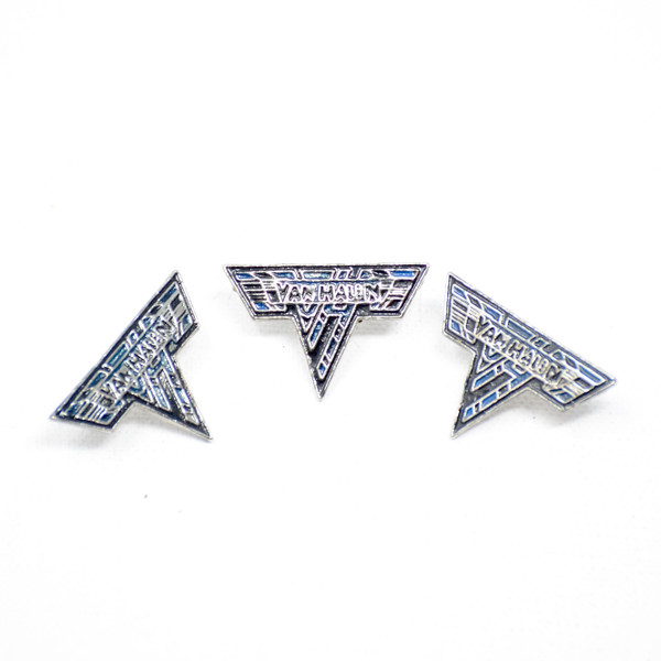 """Van Halen """"Wings"""" logo pin."""