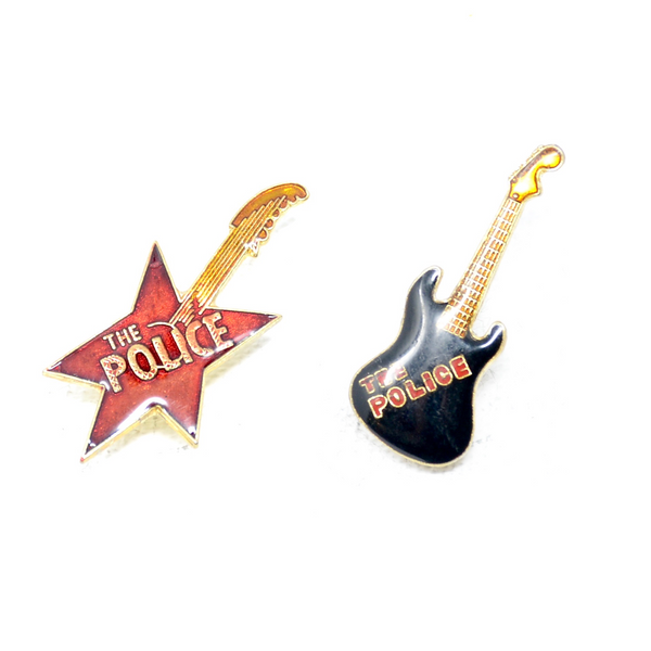 The Police Guitar Pin (2 Styles)
