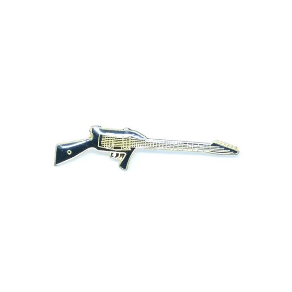 Machine Gunner Shredder Guitar Pin