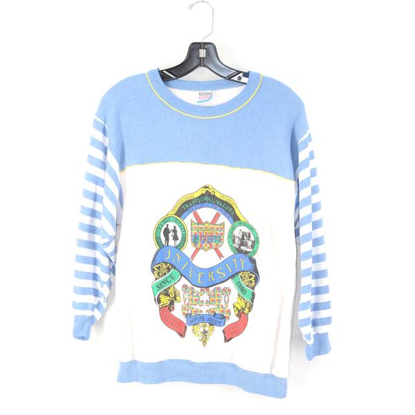 Crewneck Winterset University College Sweatshirt | Small