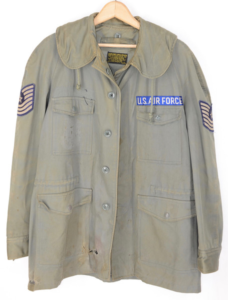 US Air Force 1950's Sage Green Single Breasted Jacket