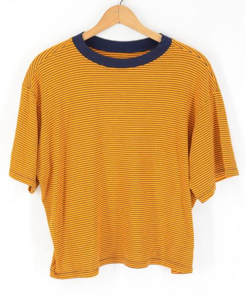 Super Soft Boxy Striped T Shirt | XL