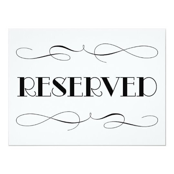 $145 Reserved Listing
