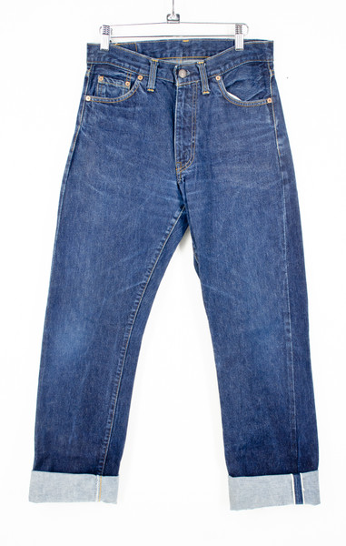 Levis Relaxed Fit 551 Dark Wash Straight Leg Jeans Size 30x 34