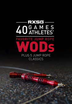 40 Games Athletes' Favorite Jump Rope WODs Ebook