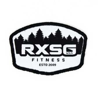 RXSG FOREST Patch with hook and loop backing