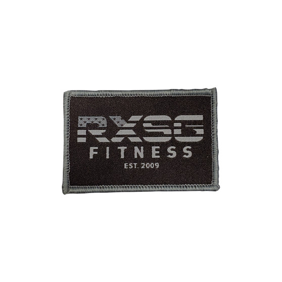 RXSG Patch with hook and loop backing