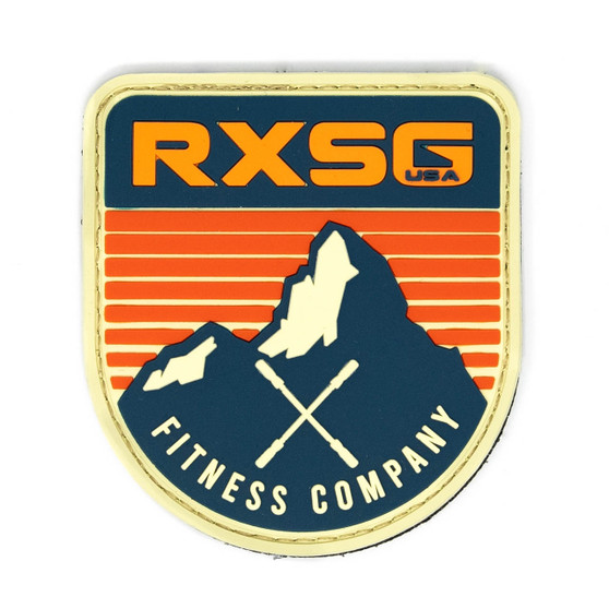 RXSG Adventure PVC Patch with hook and loop backing