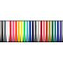 Black, Gray, White, Red, Neon Pink, Neon Orange, Yellow, Neon Yellow, Neon Green, Teal, Blue, Purple, Trans Black, Clear, Trans Red, Trans Pink, Trans Orange, Trans Yellow, Trans Green, Trans Teal, Trans Blue, Trans Purple