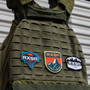 RXSG Bear Patch shown on weighted vest