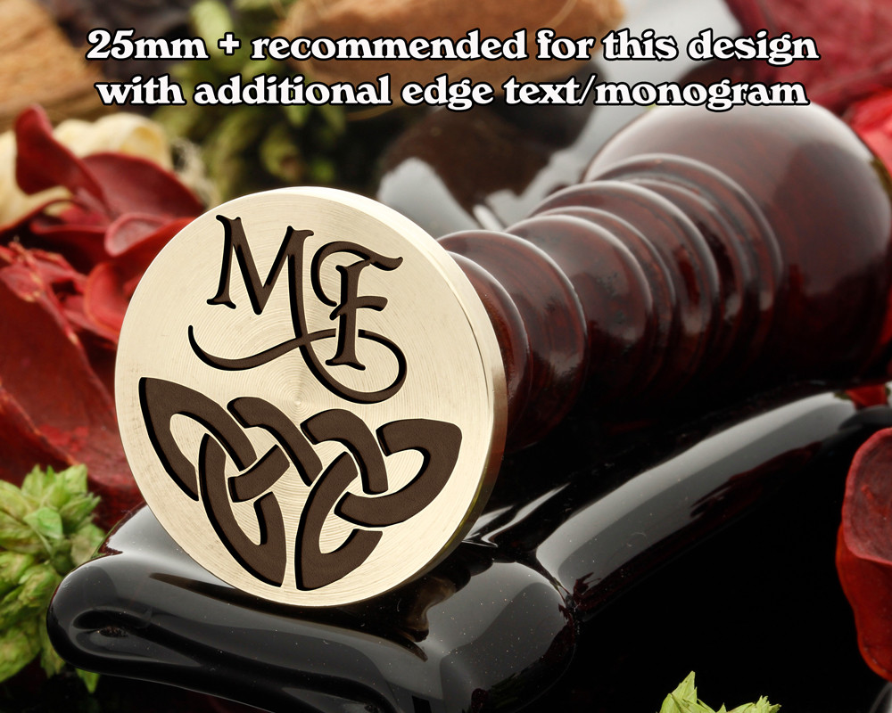 Celtic Wax Seal D11 - additional Monogram extra cost