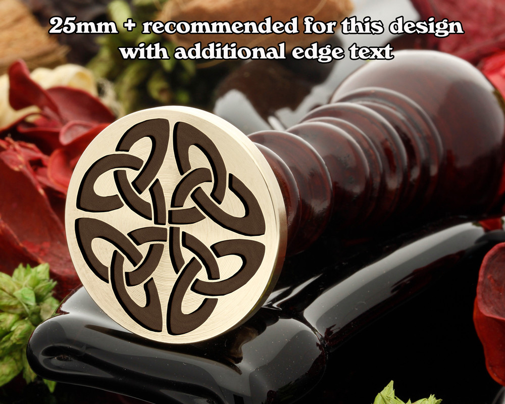 Celtic Wax Seal D13