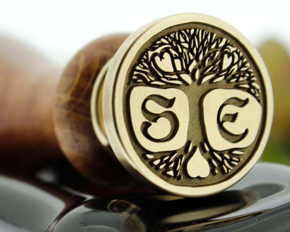 Bespoke Pagen Tree of Life, Custom Drawn Design, add initials extra option.