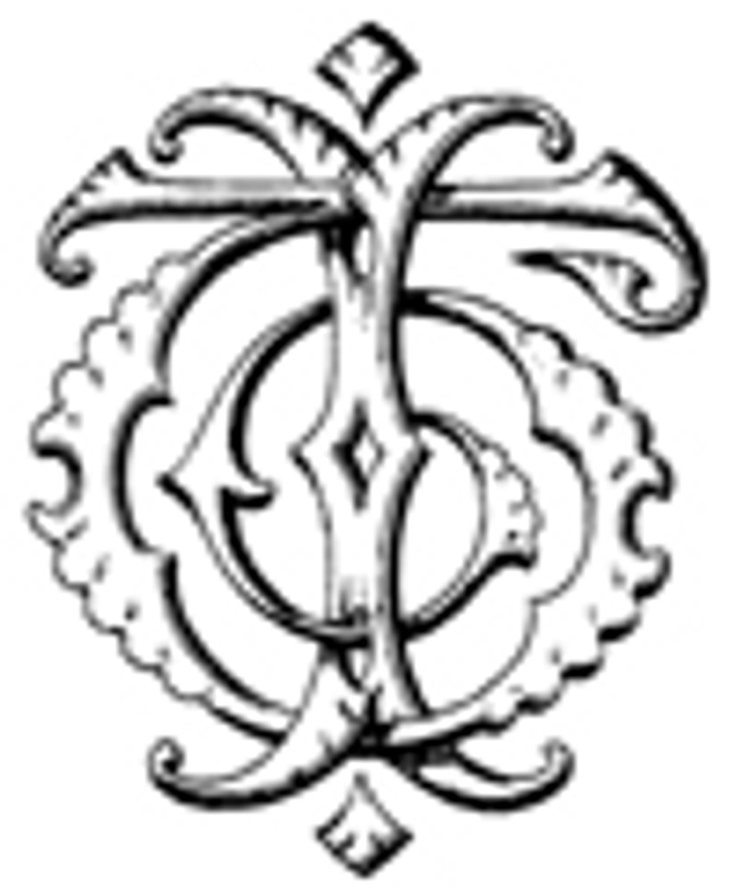 IT TI VICTORIAN MONOGRAMS DESIGN 1