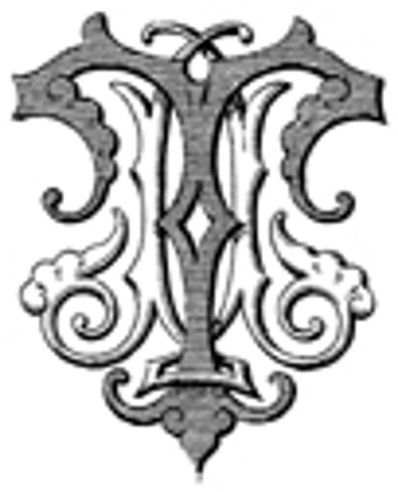 JT TJ VICTORIAN MONOGRAMS DESIGN 2