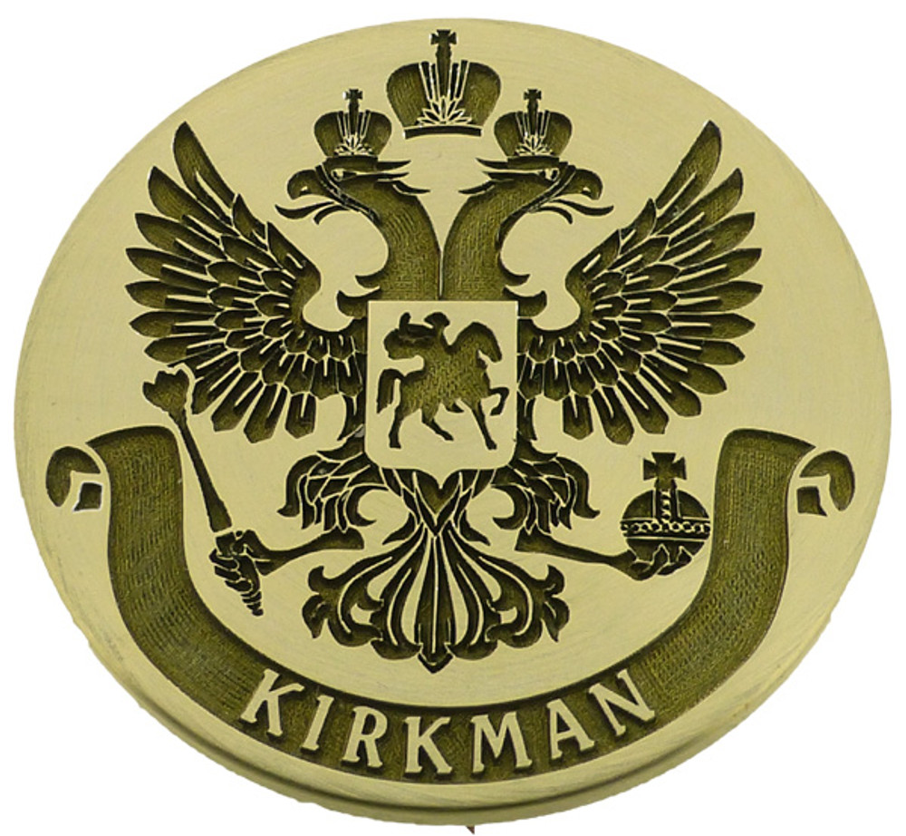Seal of the Russian Federation, adapted design available for purchase.