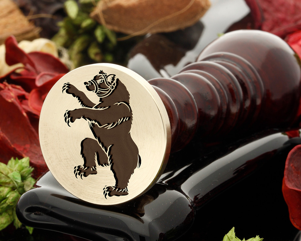 Bear Muzzled Wax Seal