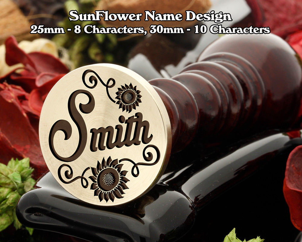 Sunflower Name Design,  max letters 10 for Name