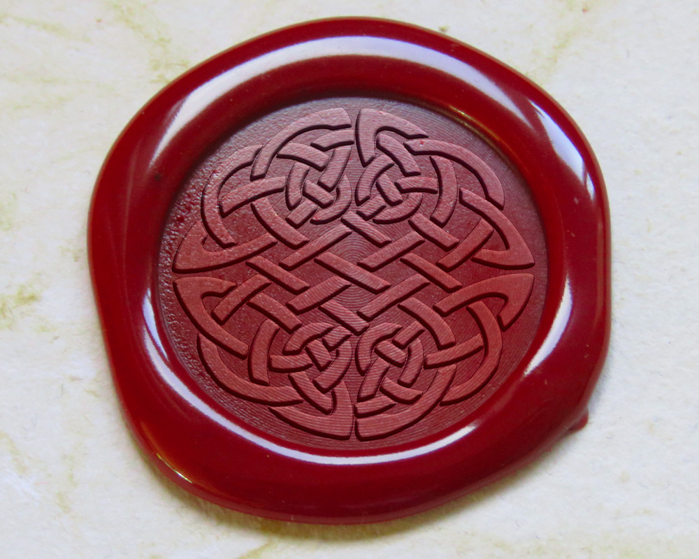 Celtic Peel and Stick wax stickers - all colours available